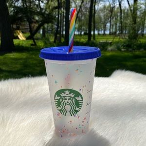 Starbucks 2020 🌈 Color Changing Confetti Reusable